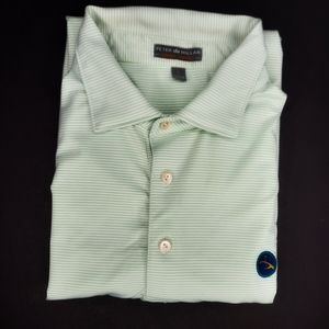 Peter Millar Polo with Eagle Point Logo Large